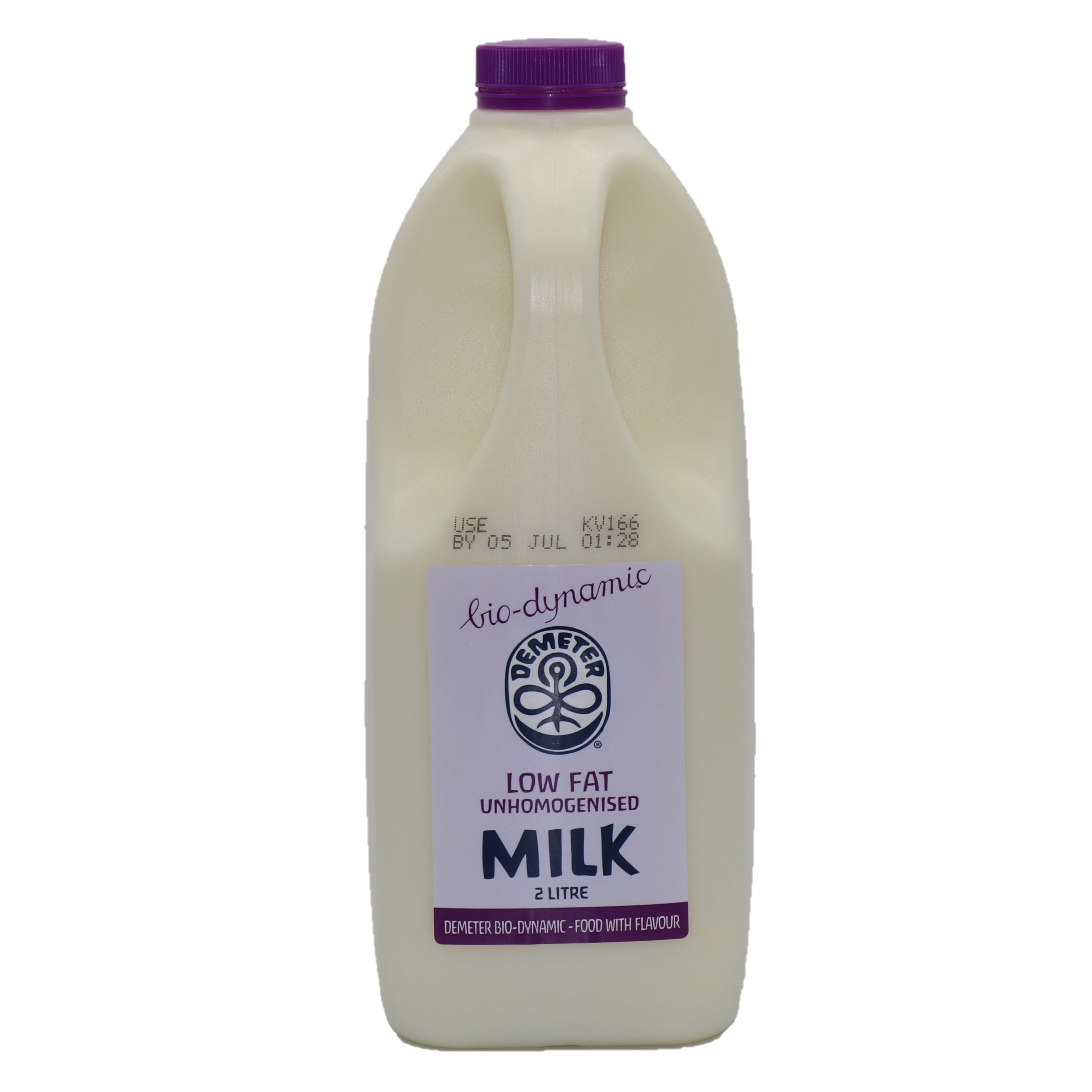 Milk – Low Fat Unhomogenised 6x2l