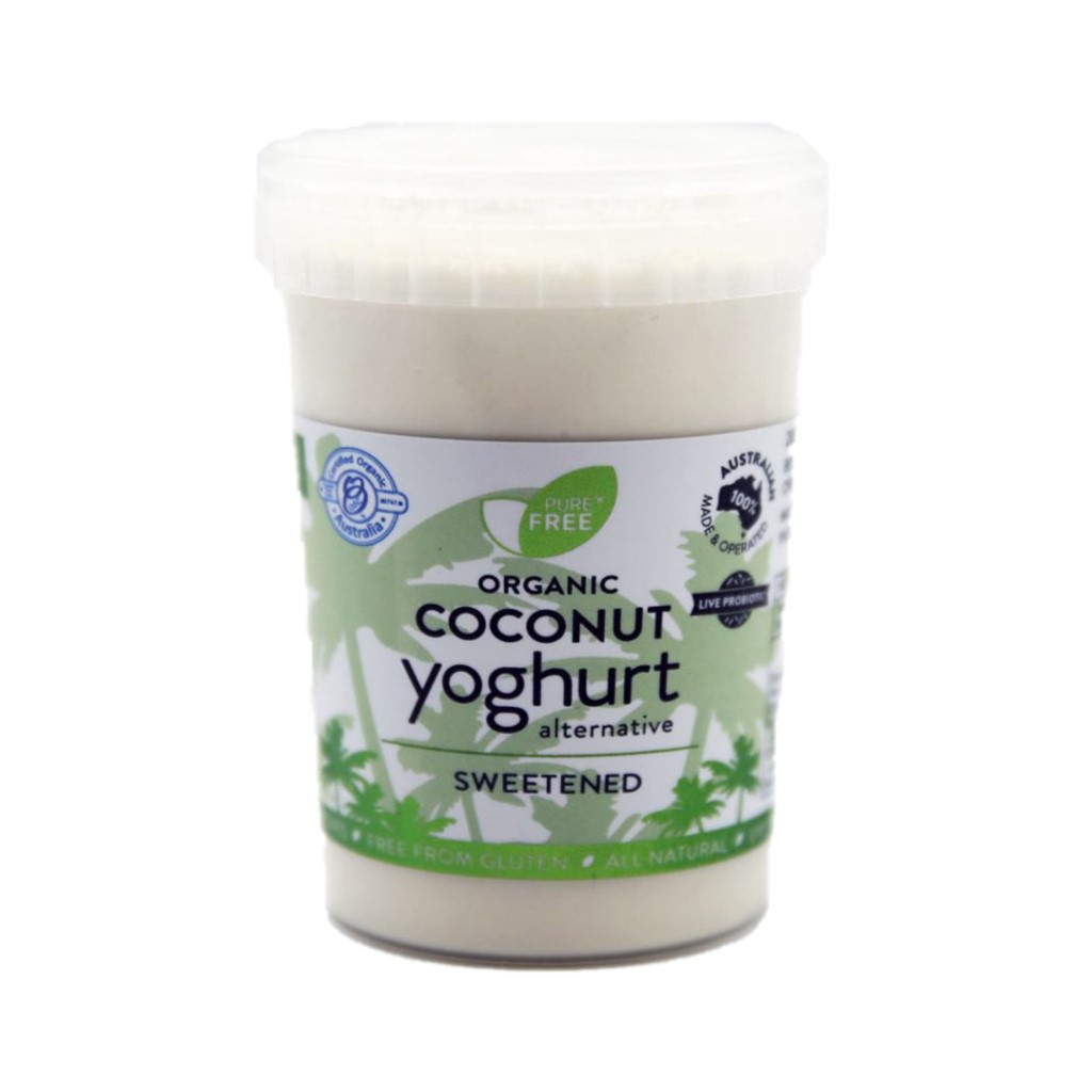 Coconut Yoghurt – Natural Sweetened 200g