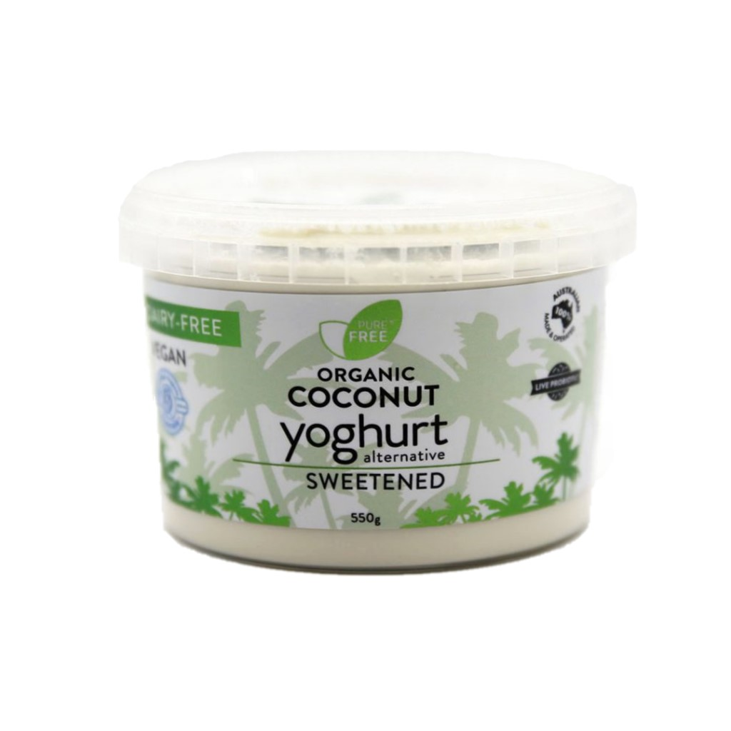 Coconut Yoghurt – Natural Sweetened 550g