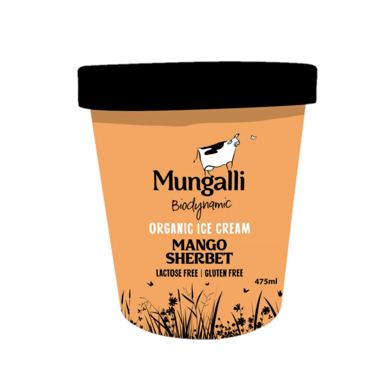 Ice Cream – Mango Sherbert 475ml