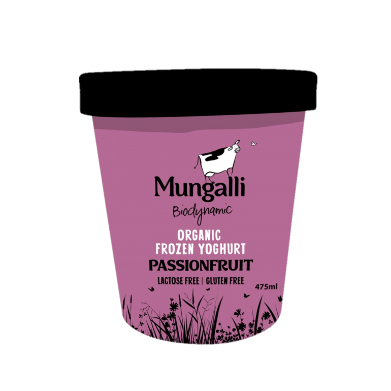 Frozen Yoghurt – Passionfruit 475ml