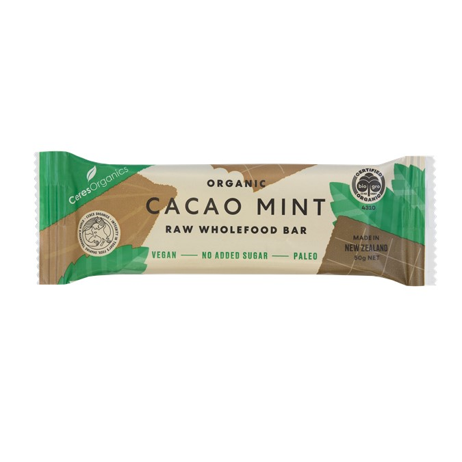 Raw Bar – Organic Cocao and Mint 16x50g