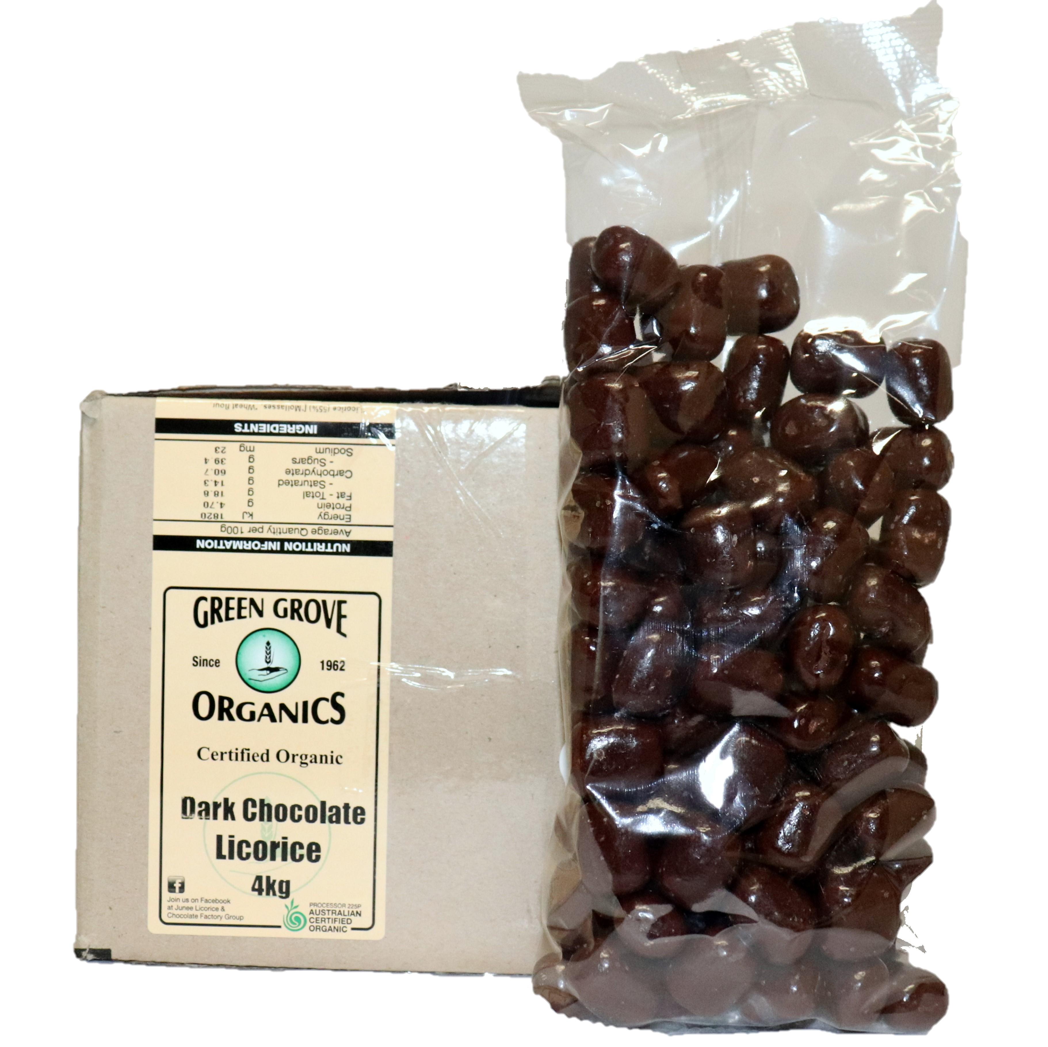 Licorice – Dark Chocolate 4kg
