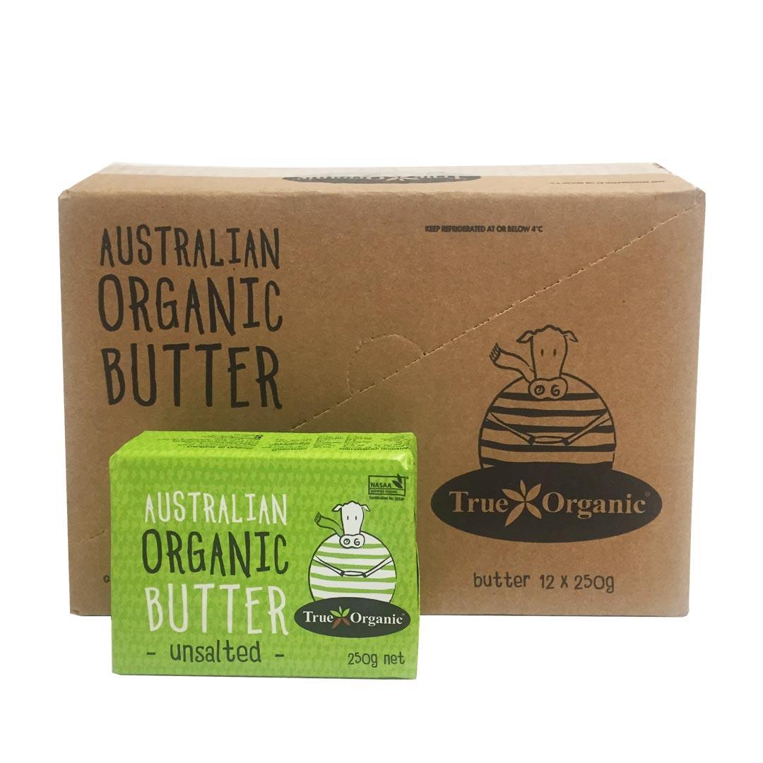 Butter – Unsalted 12x250g