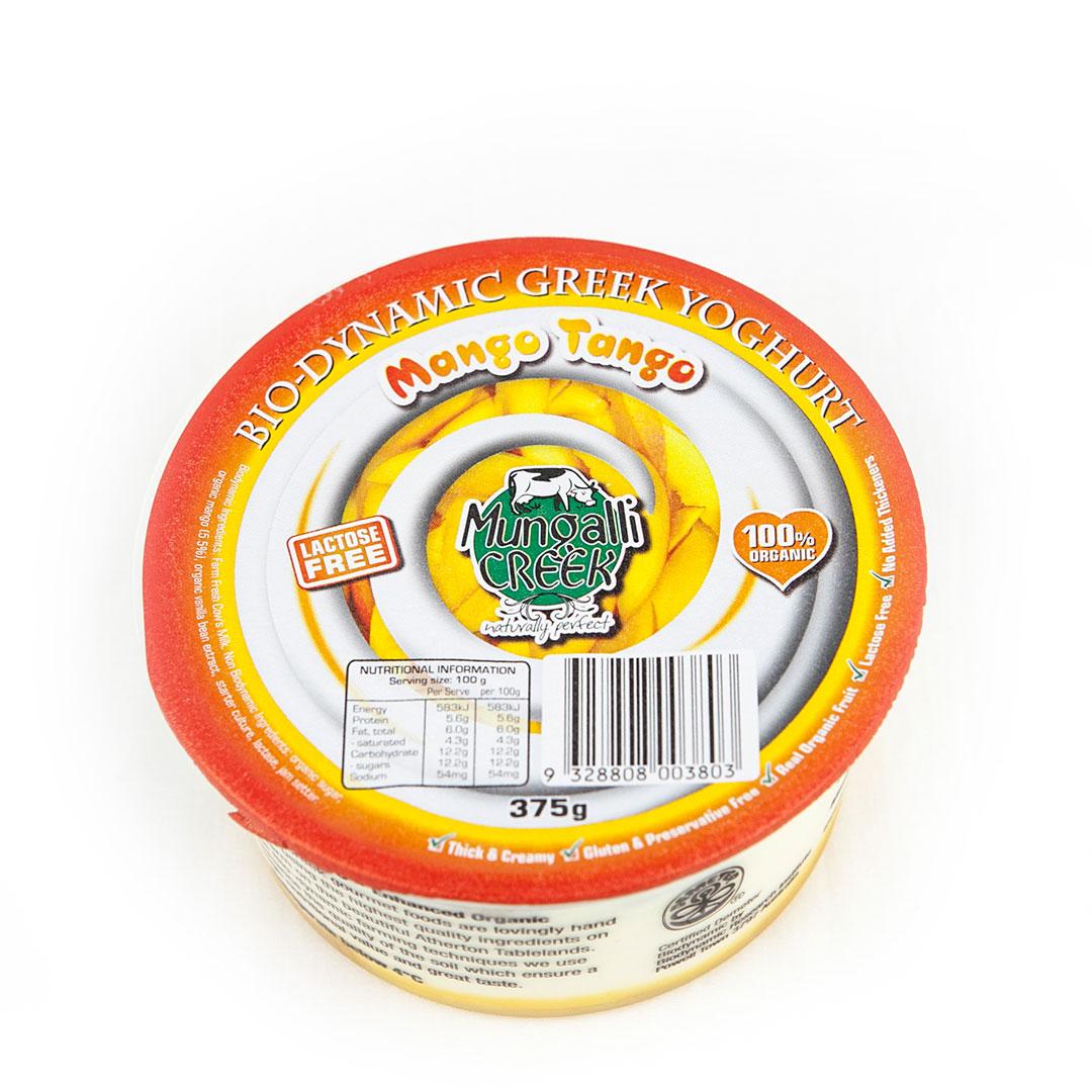 Yoghurt – Greek Mango Tango 375g