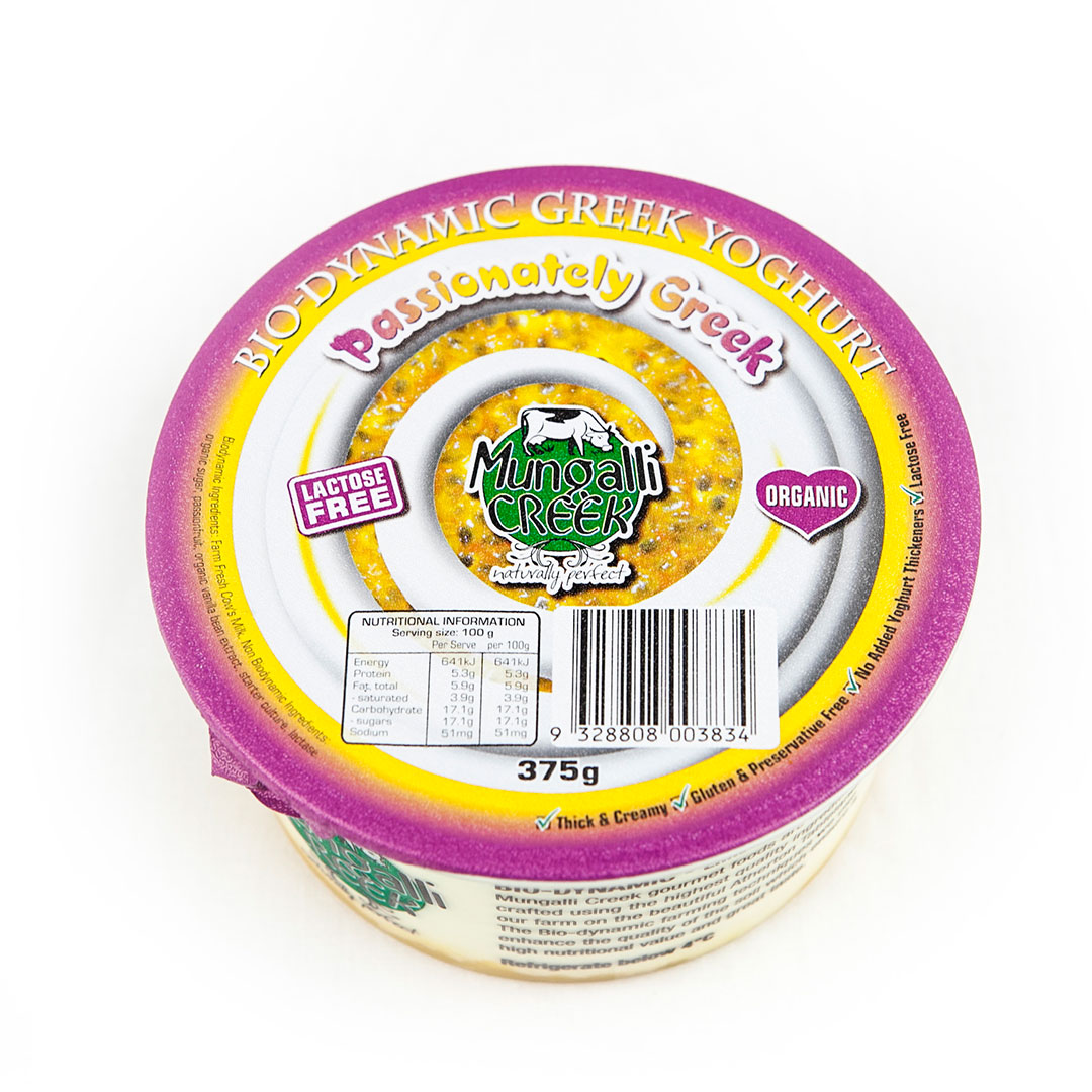 Yoghurt – Greek Passionately 375g