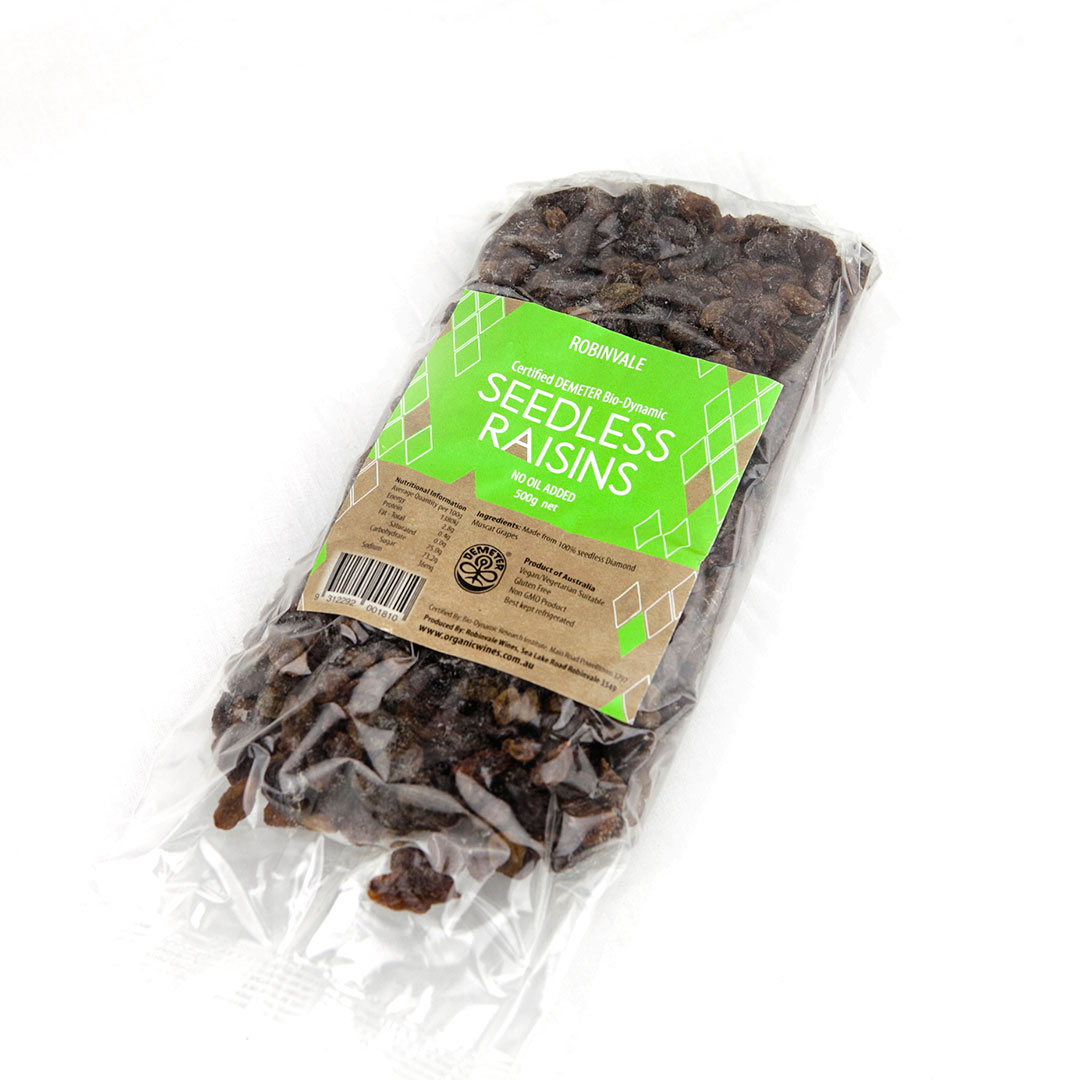 Raisins Seedless 500g