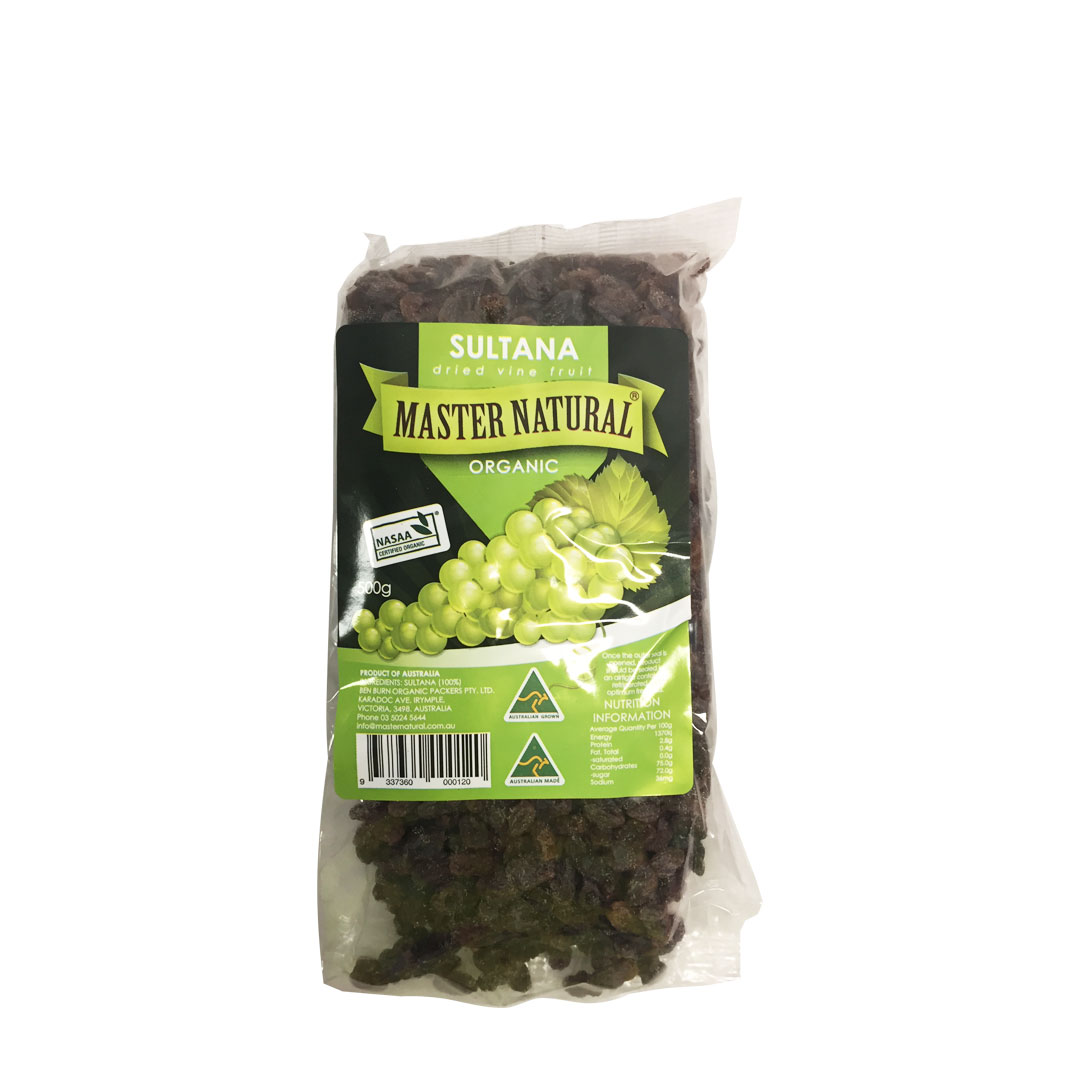Sultanas Dried Vine Fruit 500g