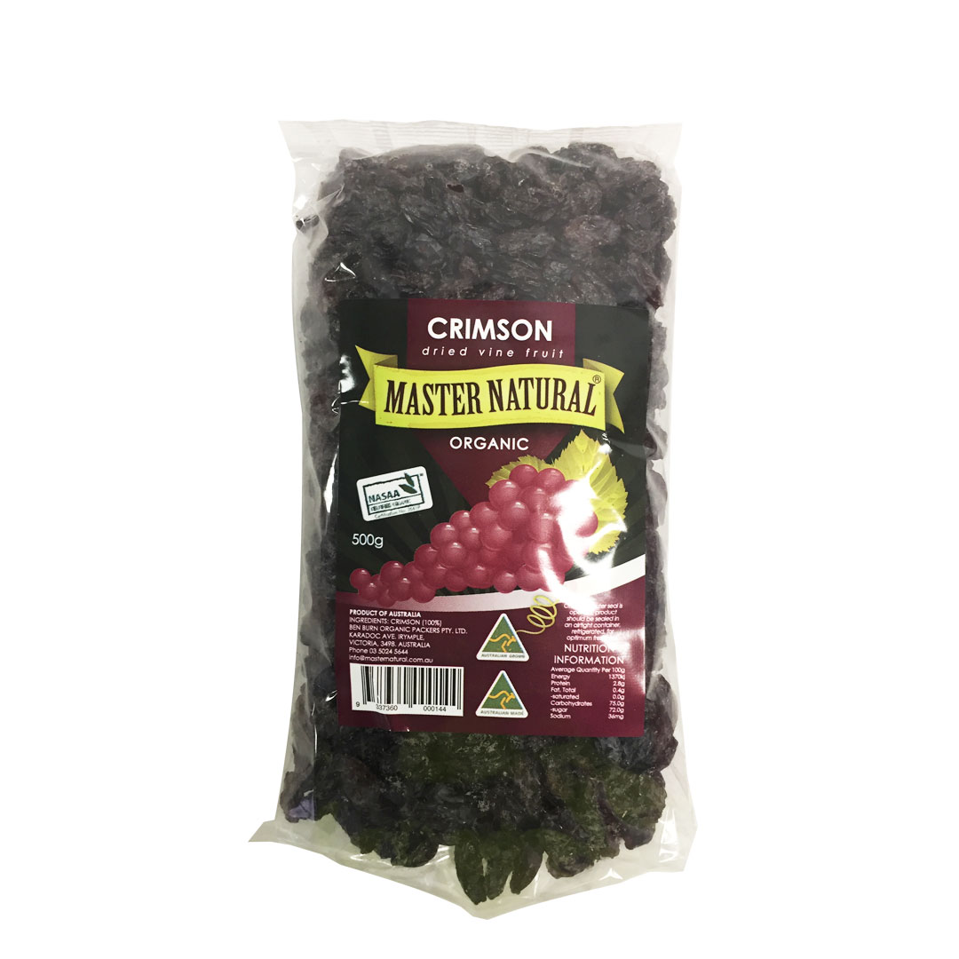Crimson Dried Vine Fruit 500g