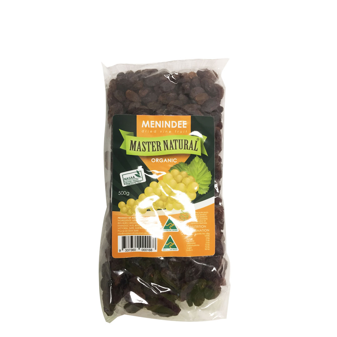 Menindee Dried Vine Fruit 500g