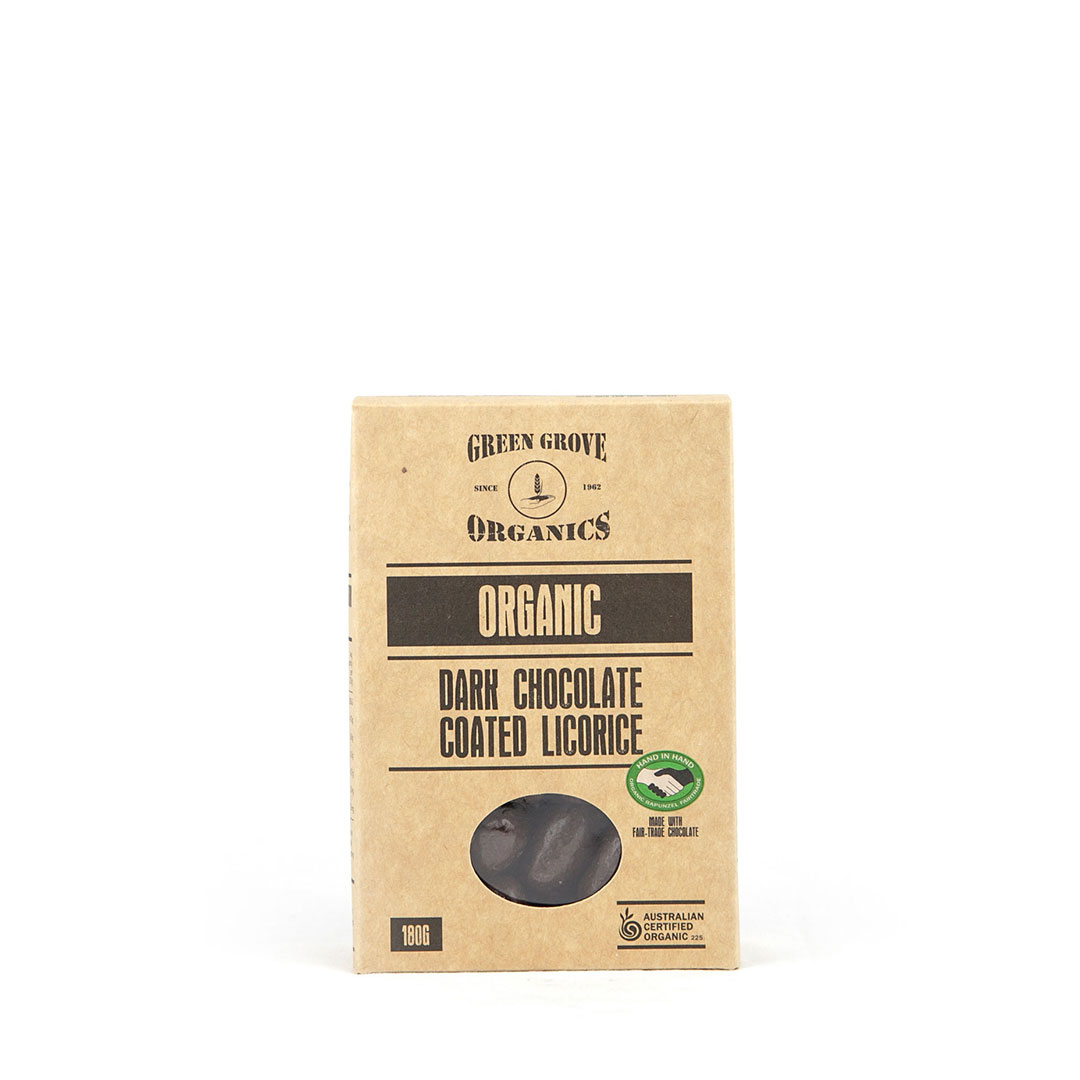 Licorice – Dark Chocolate 180g