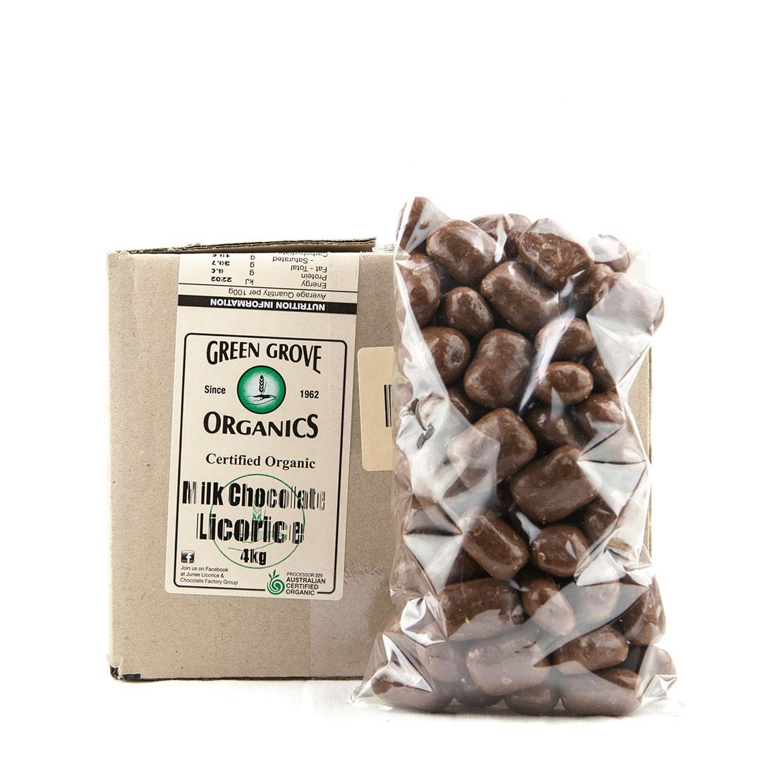 Licorice – Milk Chocolate 4kg