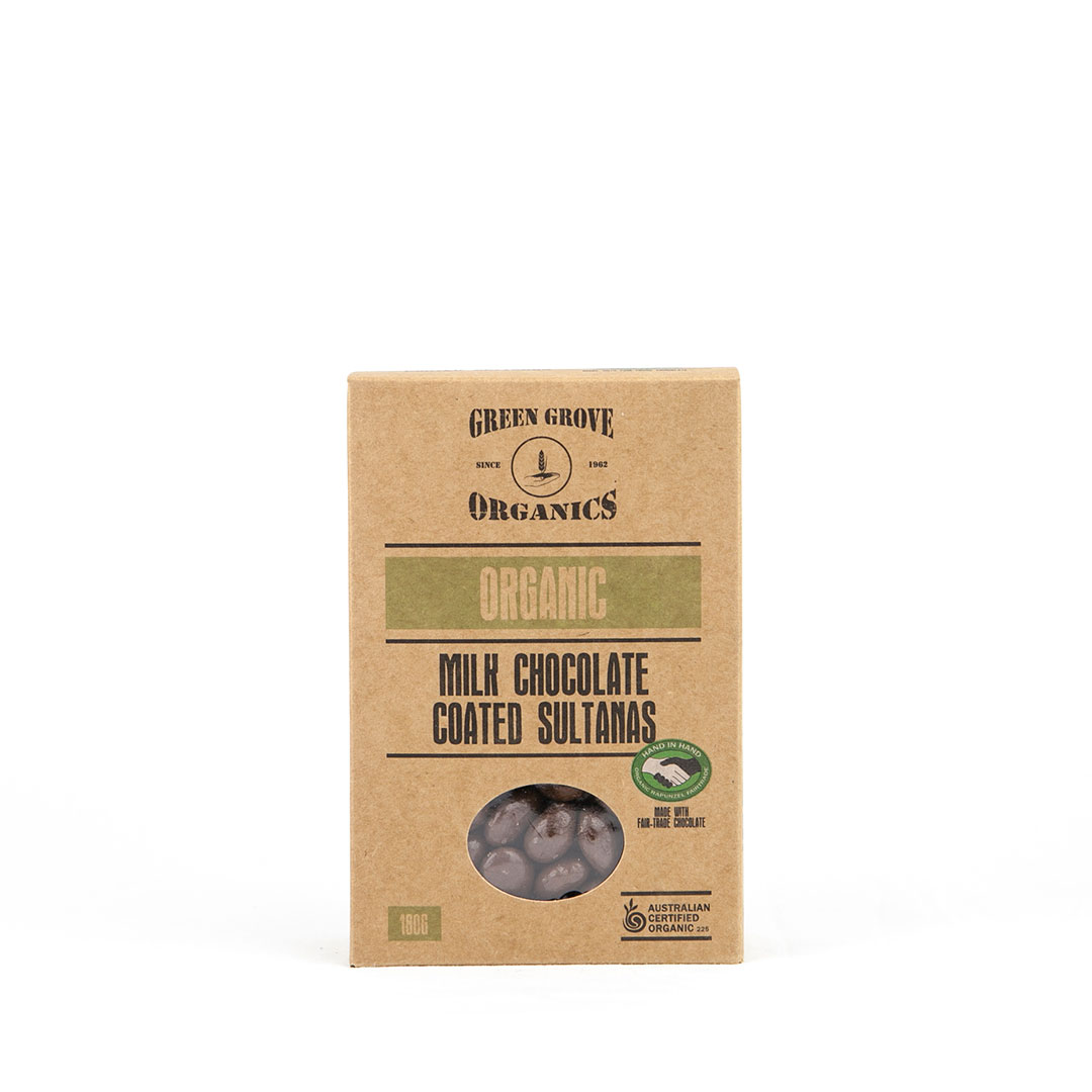 Sultanas – Milk Chocolate 180g