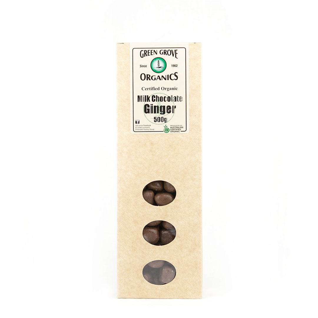 Ginger – Milk Chocolate 500g