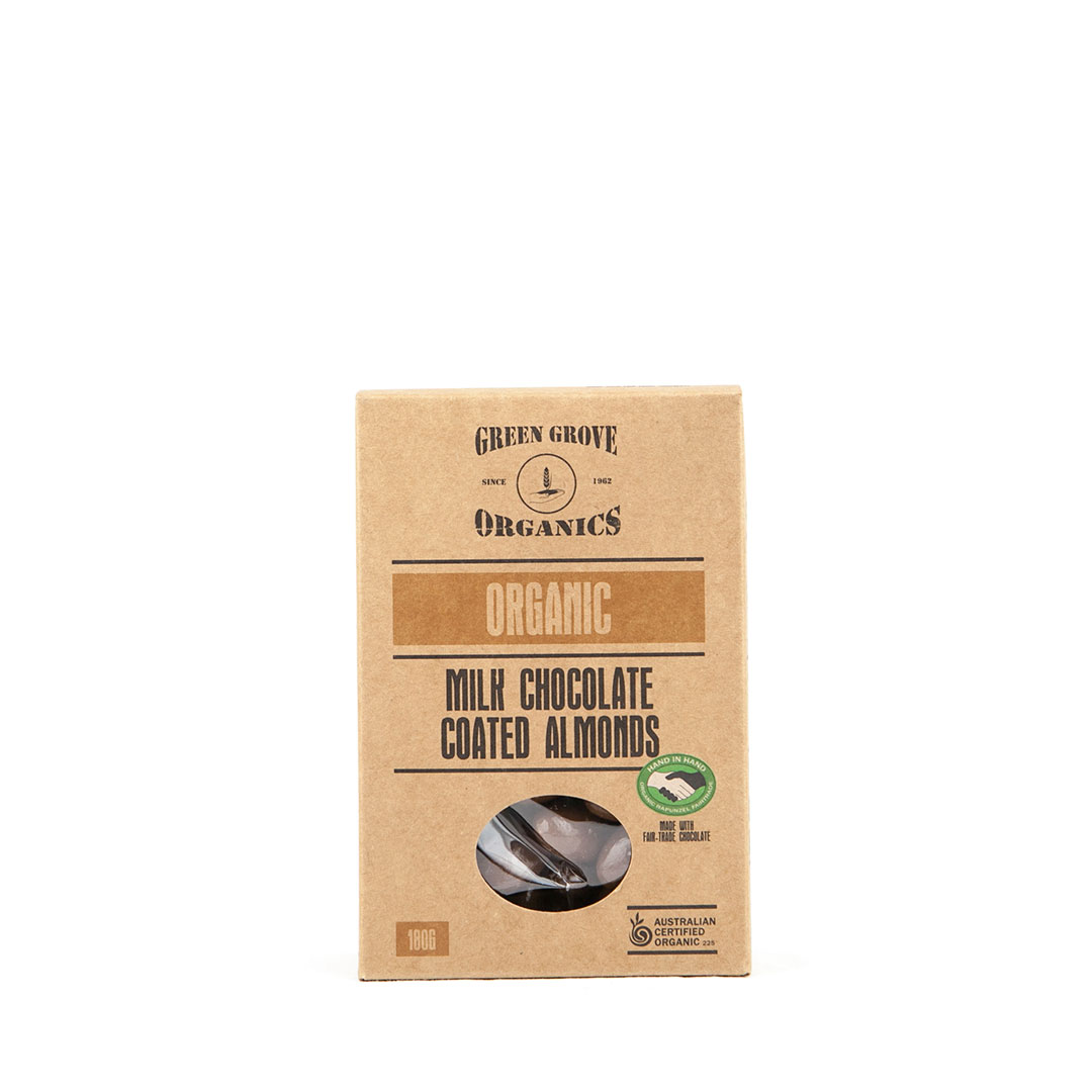 Almonds – Milk Chocolate 180g