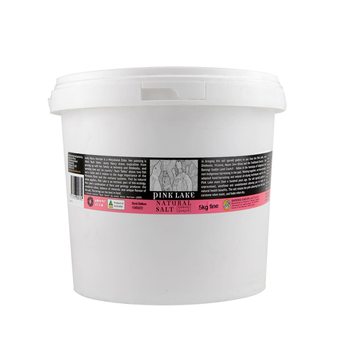 Pink Lake Salt – Fine 5kg