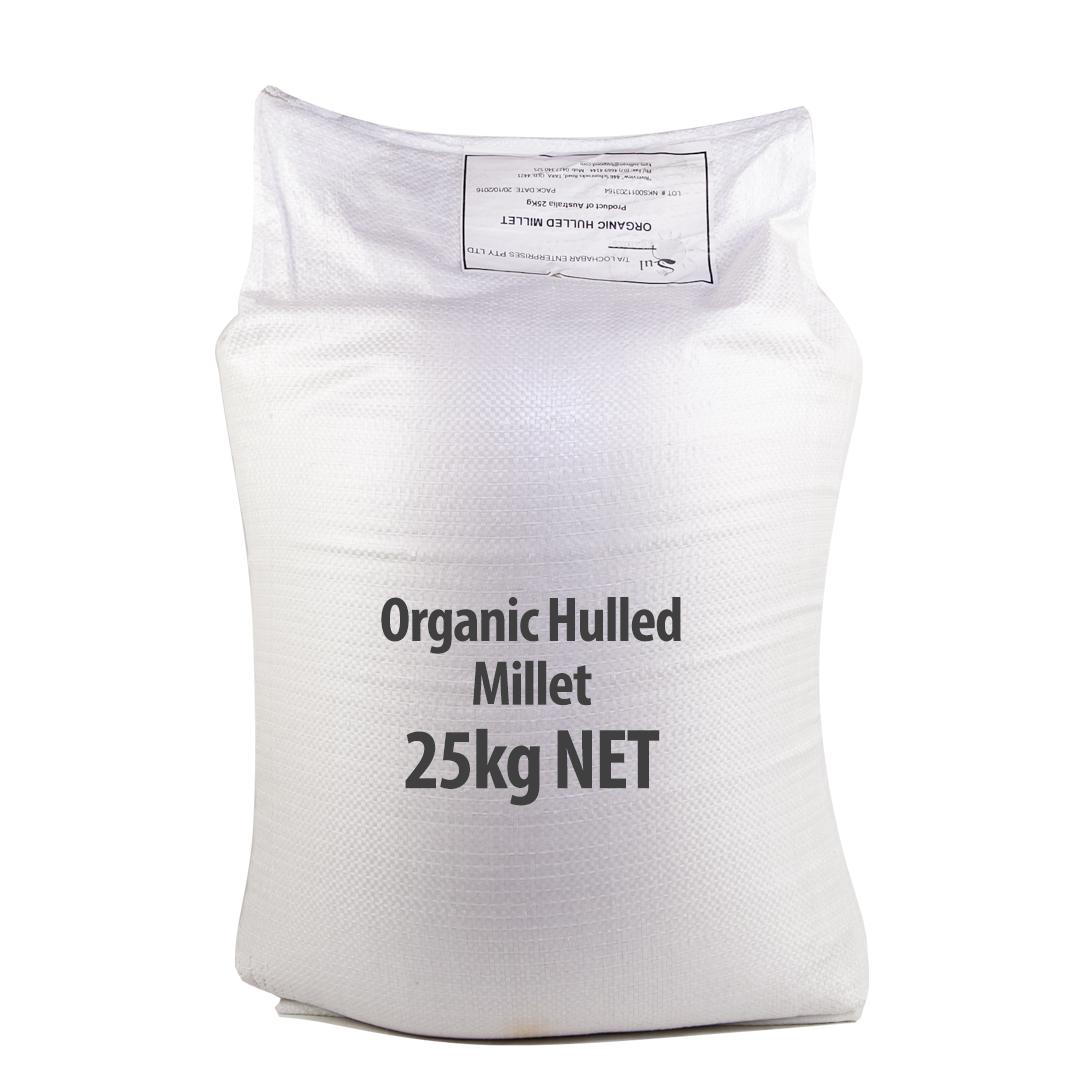 Millet – Hulled 25kg