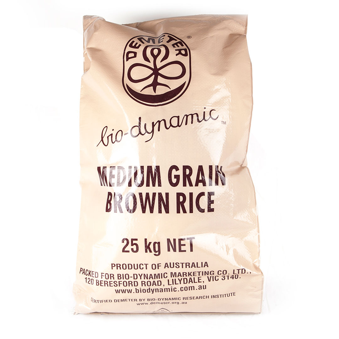 Rice – Medium Grain Brown 25kg