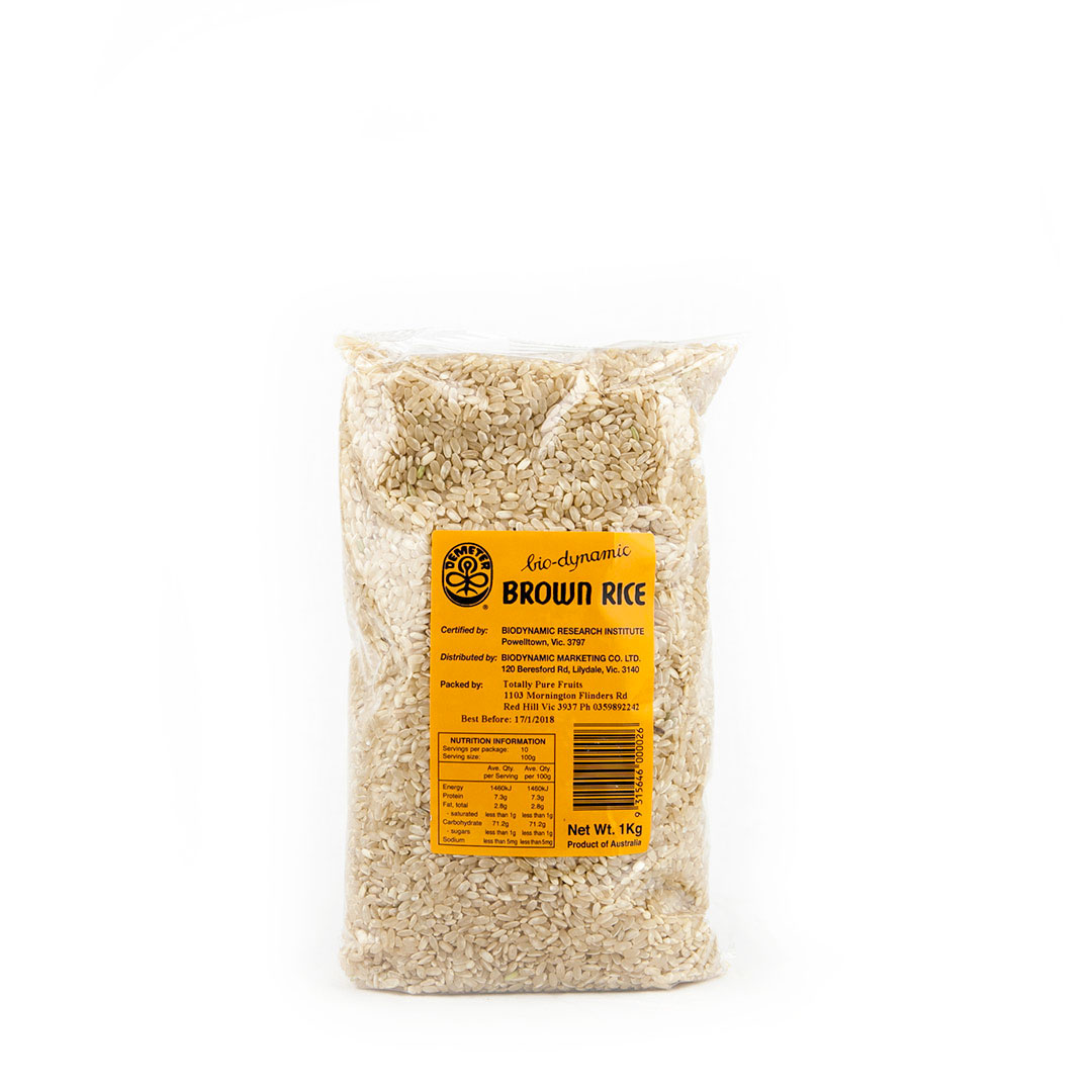 Rice – Medium Grain Brown 1kg