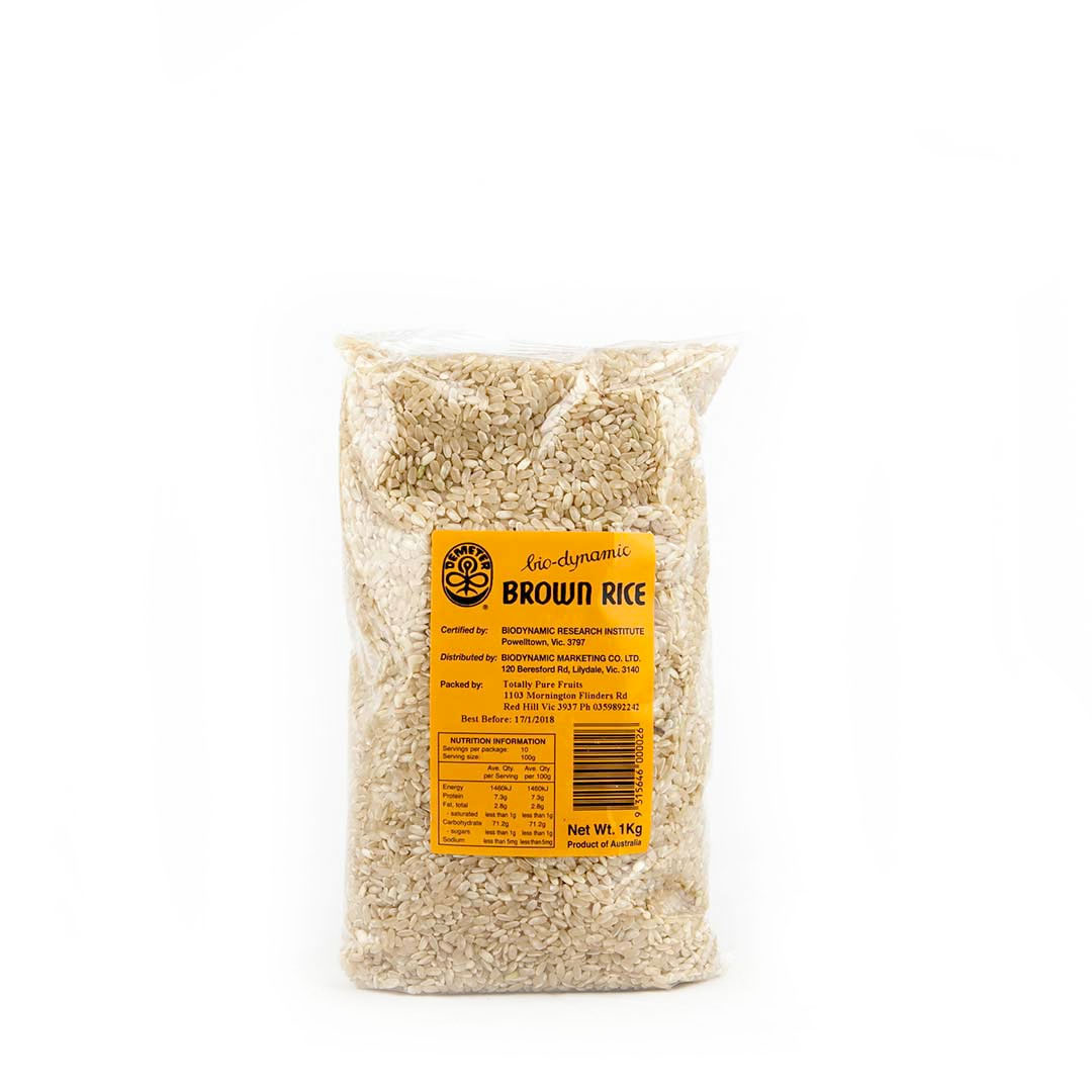 Rice – Medium Grain Brown 12x1kg