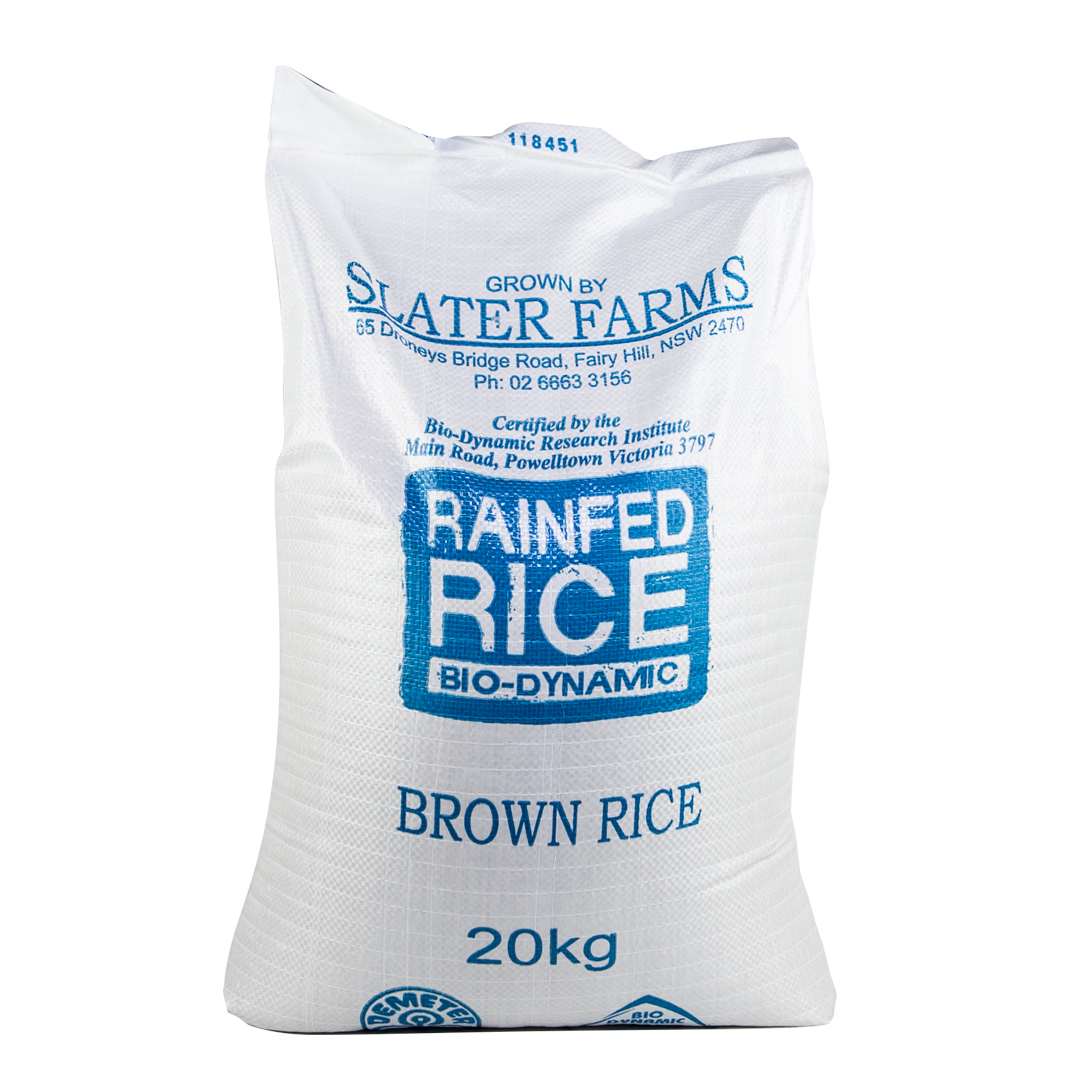 Rice – Med Brown Rainfed 20kg