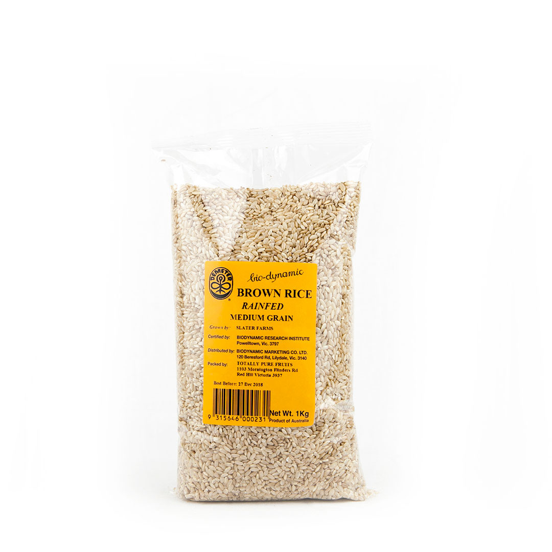 Rice – Med Brown Rainfed 1kg