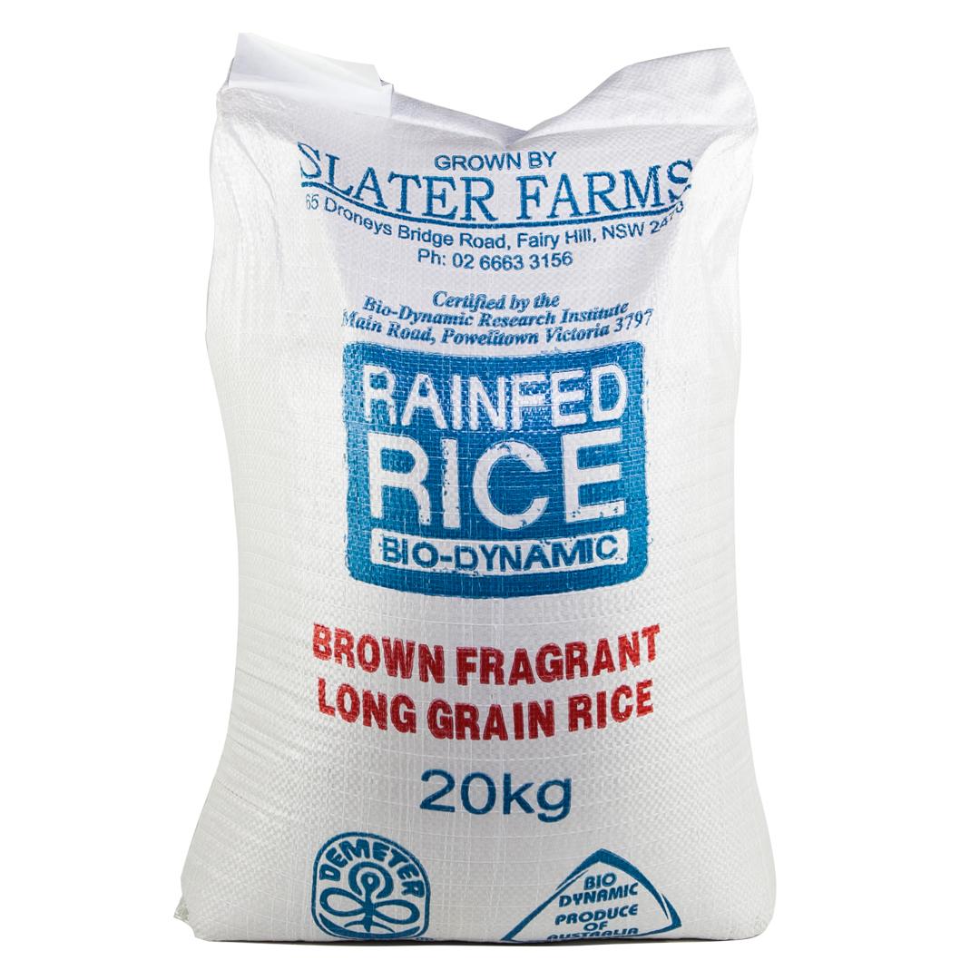 Rice – Fragrant Brown 20kg