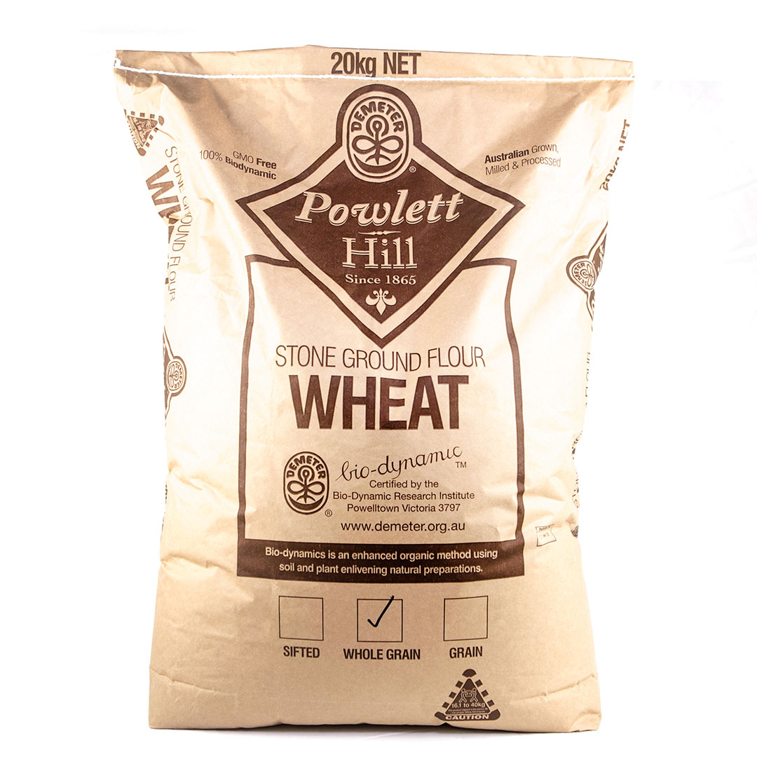 Flour – Wholegrain Wheat 20kg