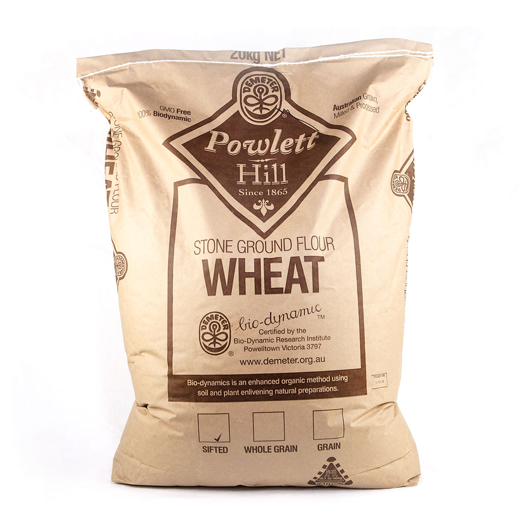 Flour – Sifted White Wheat 20kg