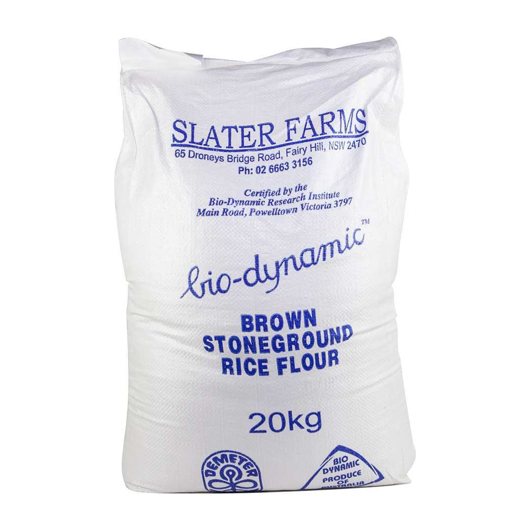 Flour – Brown Rice 20kg