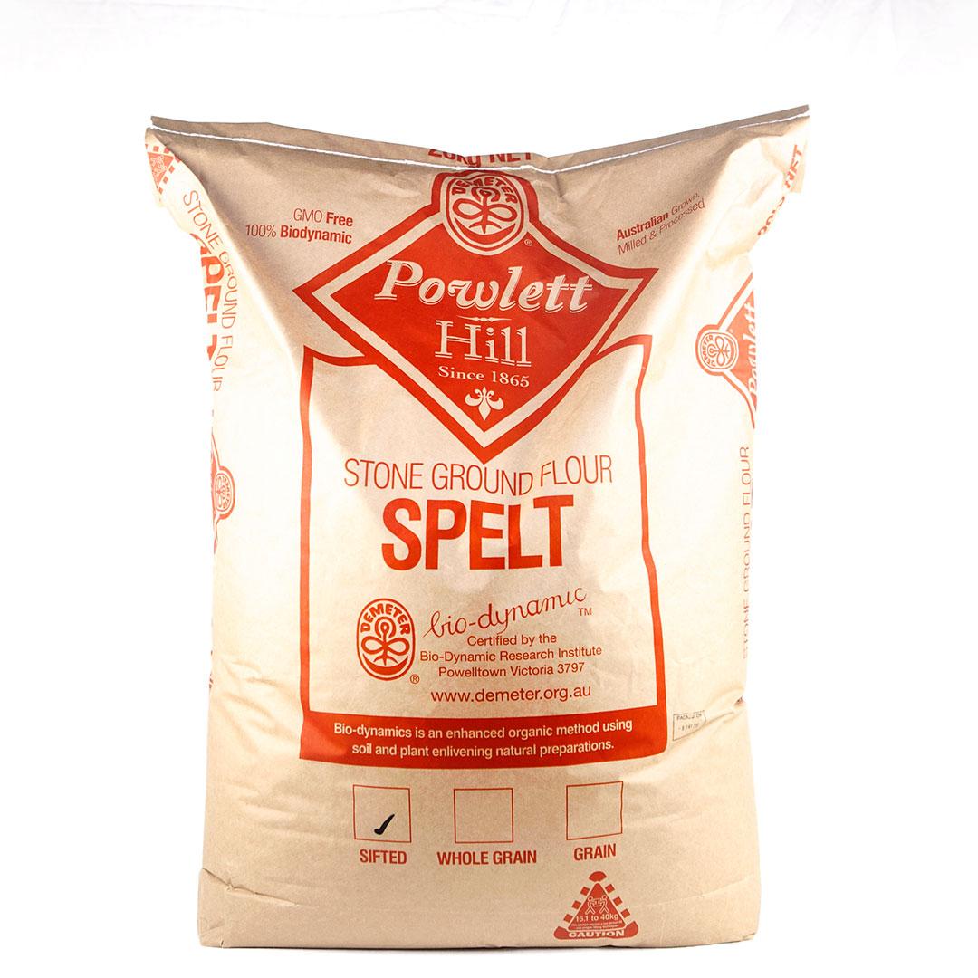 Flour – Spelt Sifted White 20kg