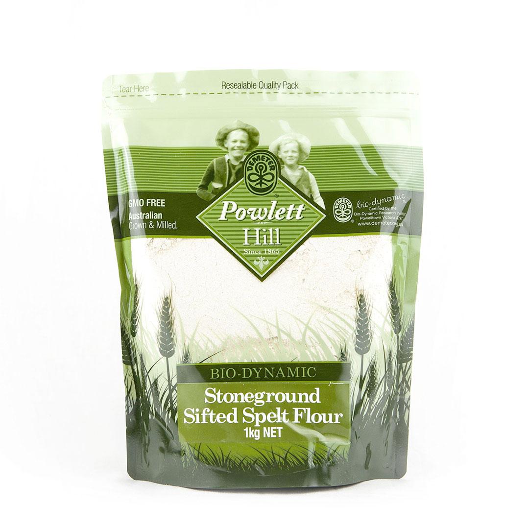 Flour – Spelt Sifted White 1kg