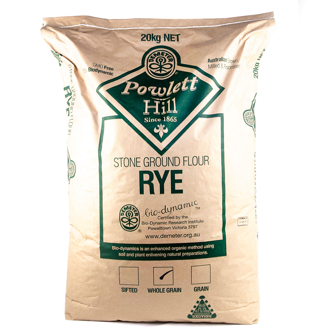 Flour – Rye Wholegrain 20kg