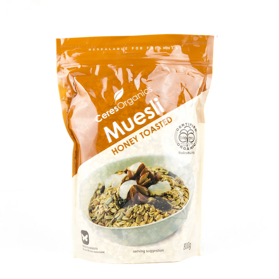Muesli – Honey Toasted 800g
