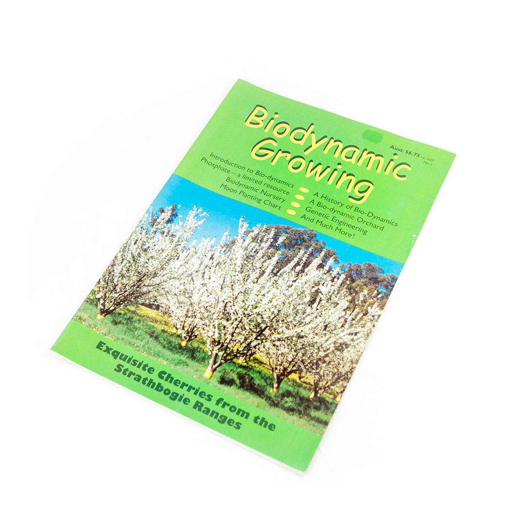 Biodynamic Growing Magazine Issue 1
