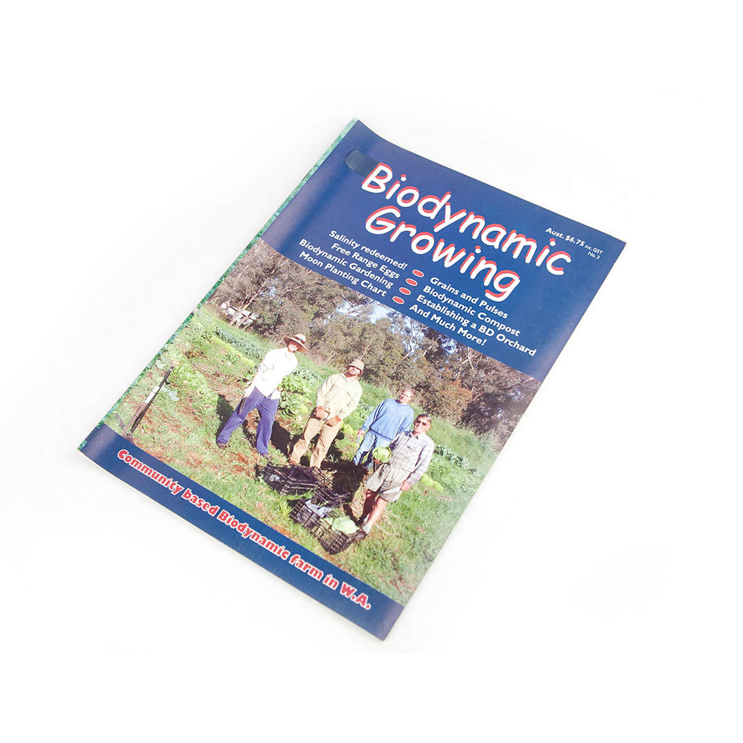 Biodynamic Growing Magazine Issue 3