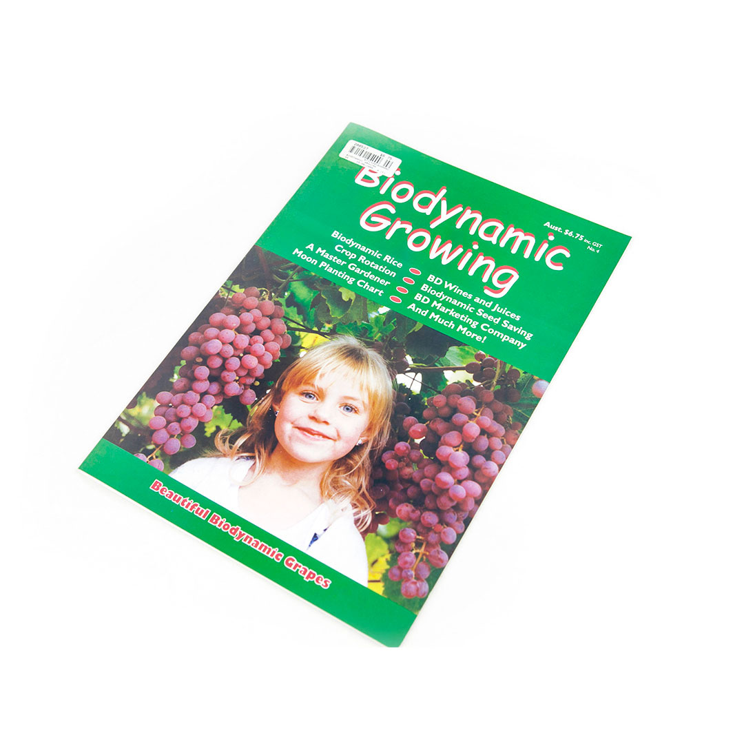 Biodynamic Growing Magazine Issue 4