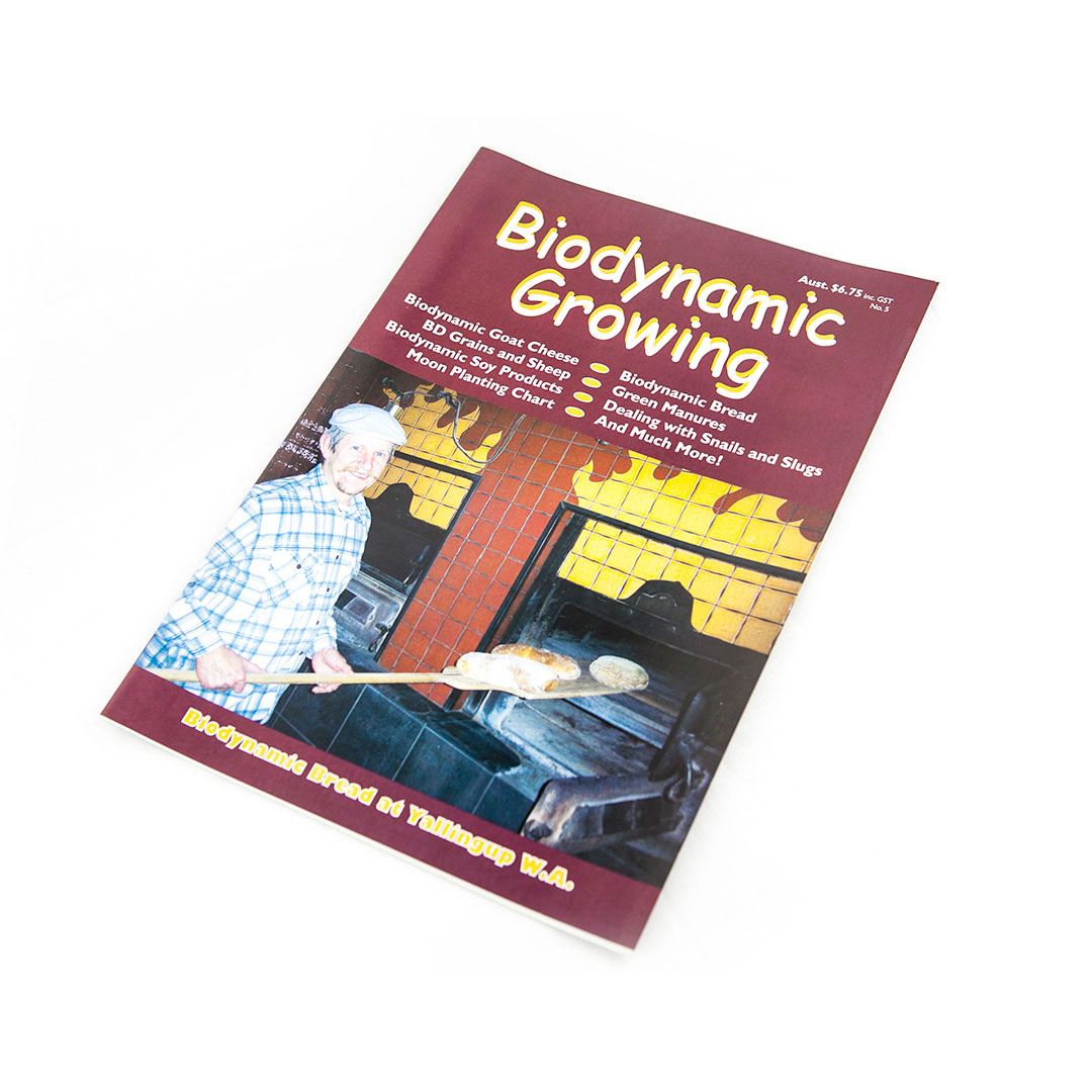 Biodynamic Growing Magazine Issue 5
