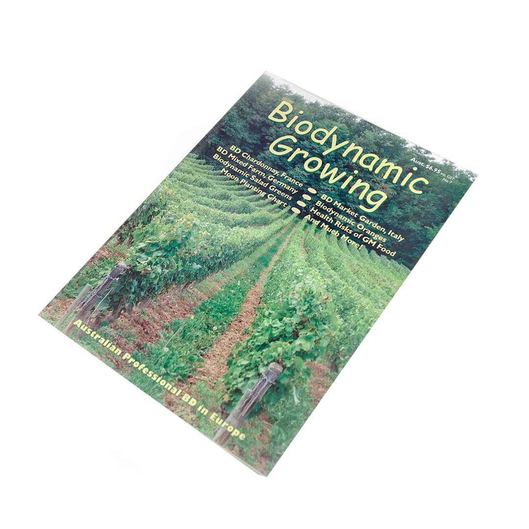 Biodynamic Growing Magazine Issue 7