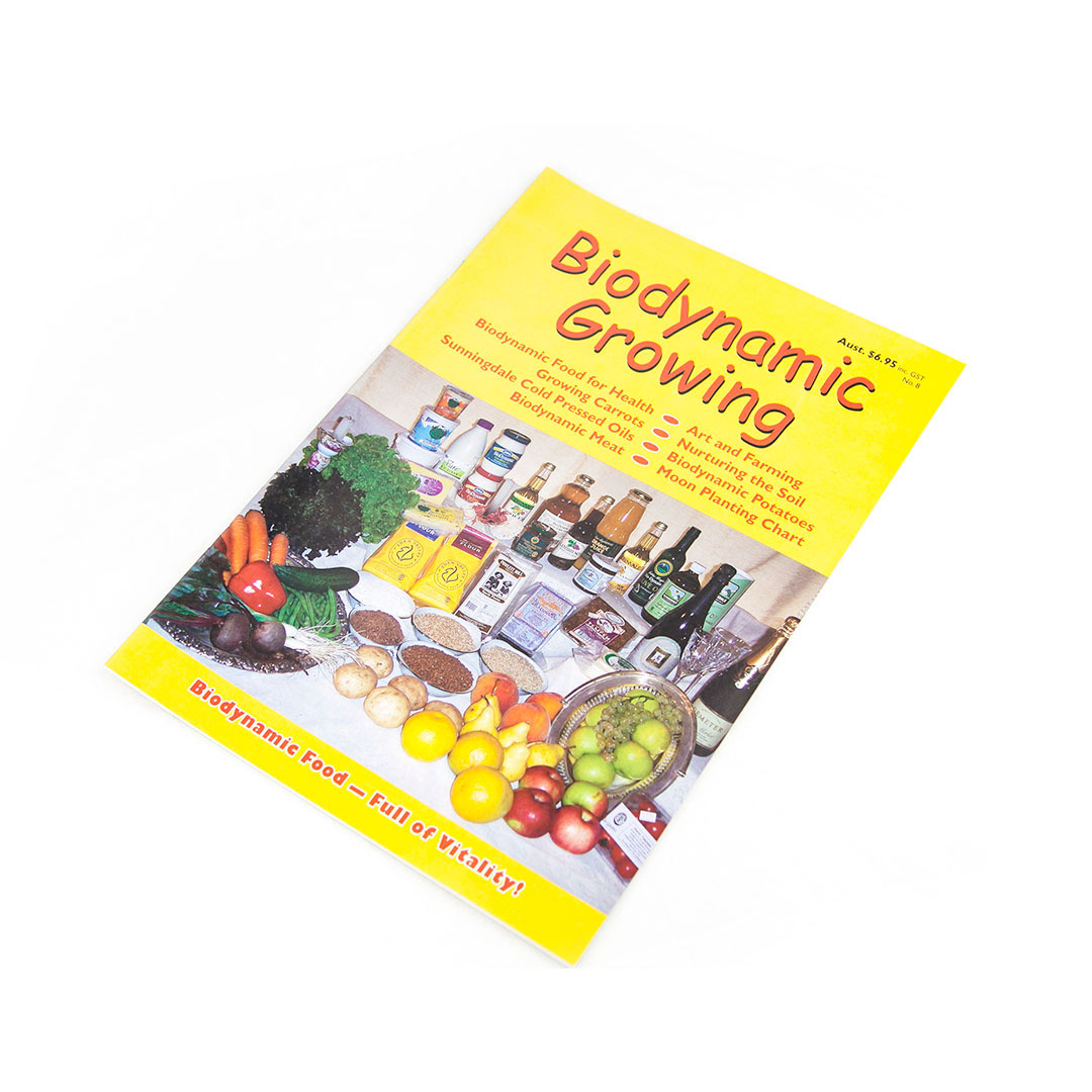 Biodynamic Growing Magazine Issue 8