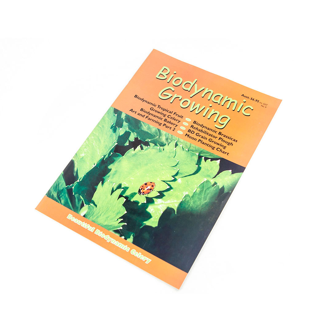 Biodynamic Growing Magazine Issue 9