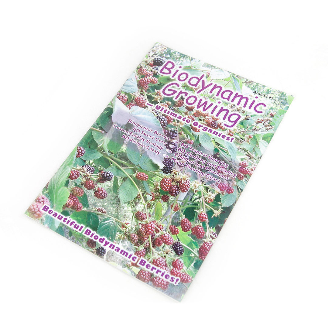 Biodynamic Growing Magazine Issue 10