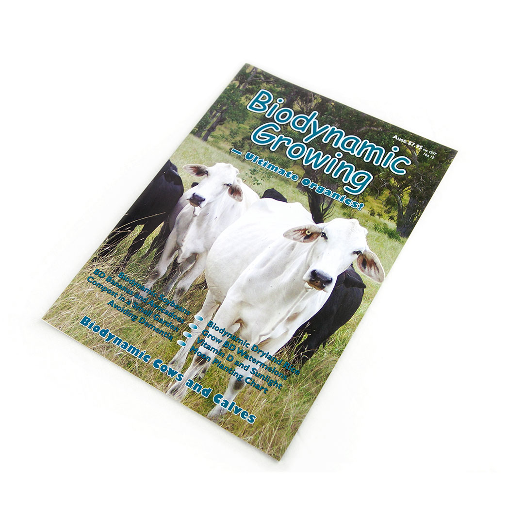 Biodynamic Growing Magazine Issue 12