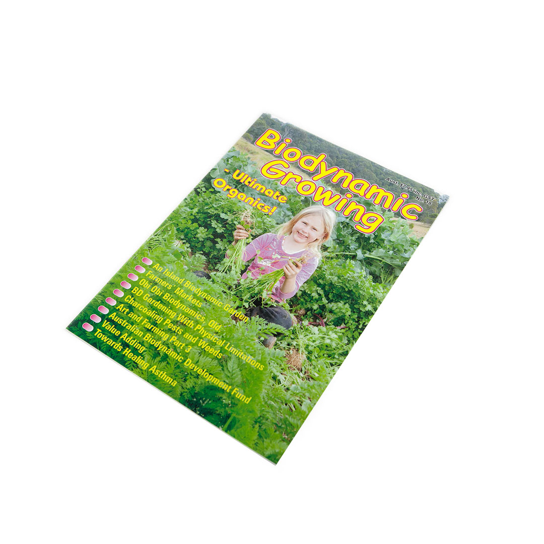 Biodynamic Growing Magazine Issue 18