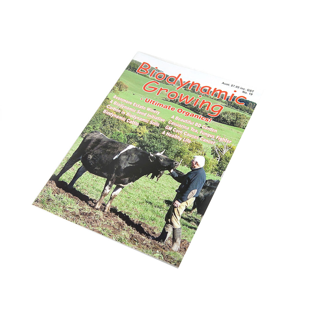 Biodynamic Growing Magazine Issue 19