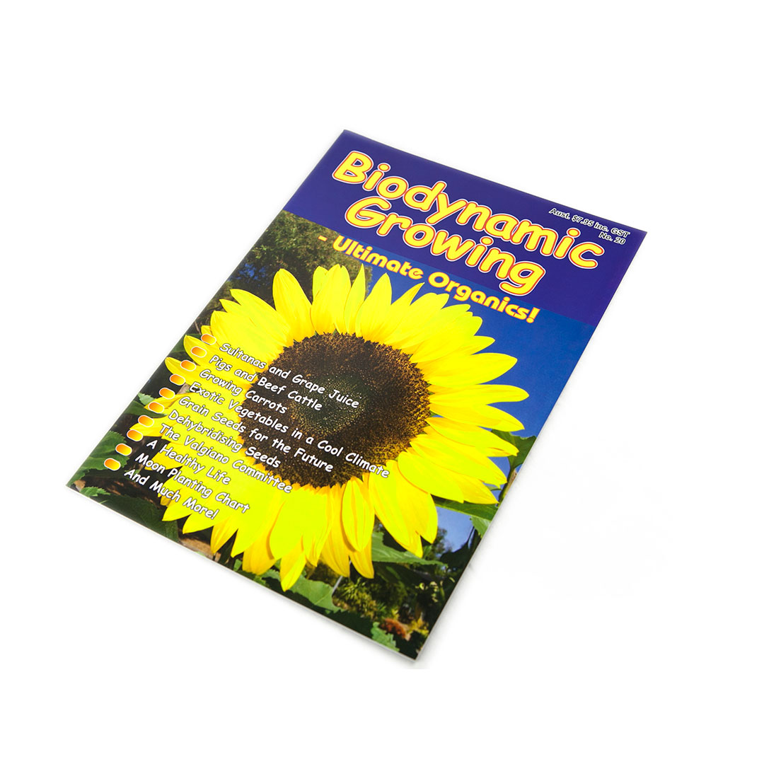 Biodynamic Growing Magazine Issue 20