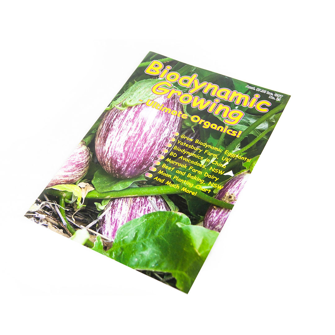 Biodynamic Growing Magazine Issue 21