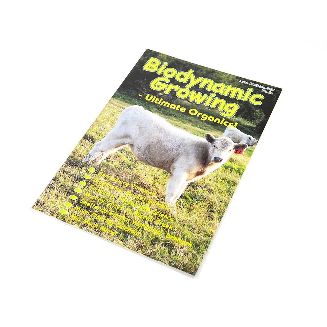 Biodynamic Growing Magazine Issue 22