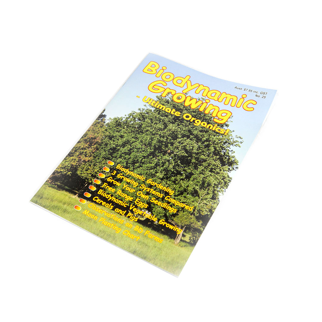 Biodynamic Growing Magazine Issue 25