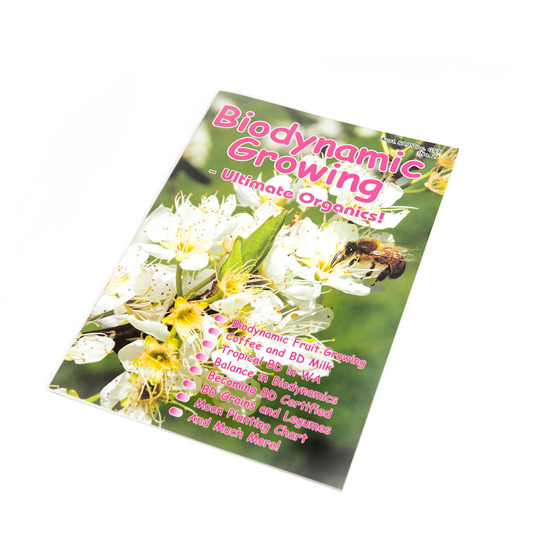Biodynamic Growing Magazine Issue 27